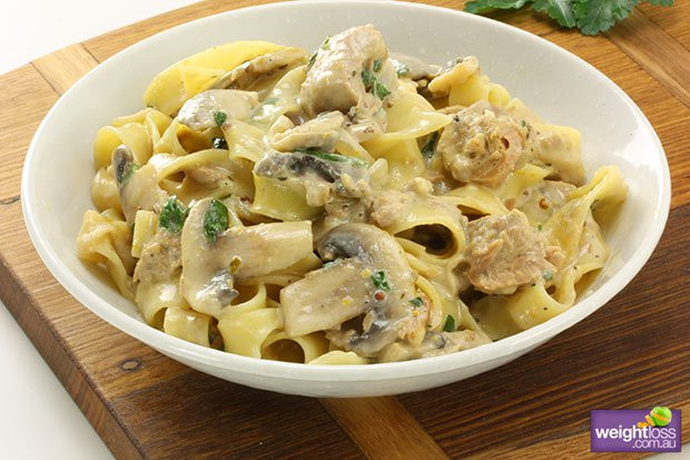 Healthy Tuna Recipes Weight Loss  Tuna & Mushroom Pasta