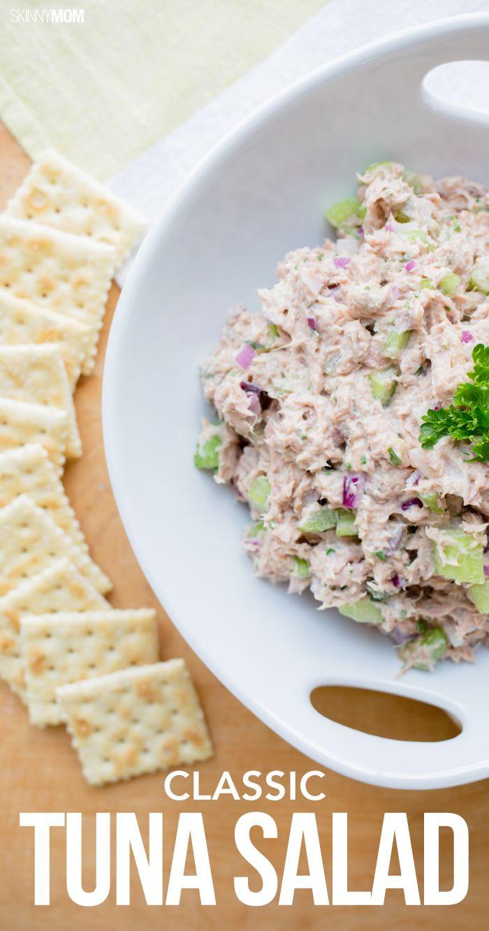 Healthy Tuna Recipes Weight Loss  Recipe Classic Tuna Salad