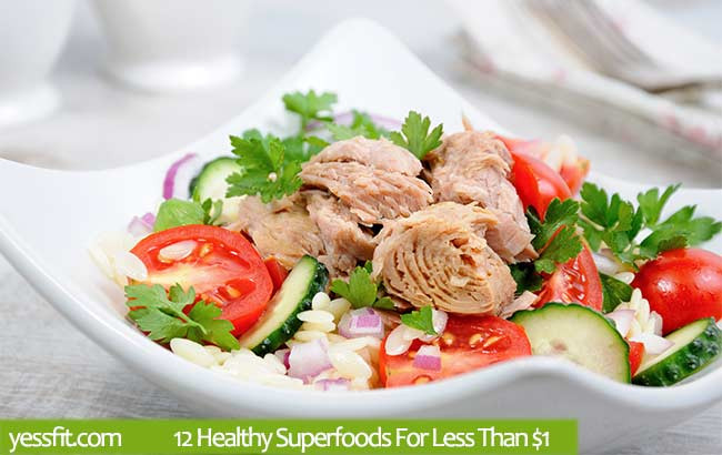 Healthy Tuna Recipes Weight Loss  12 Healthy Superfoods For Less Than $1 YessFit