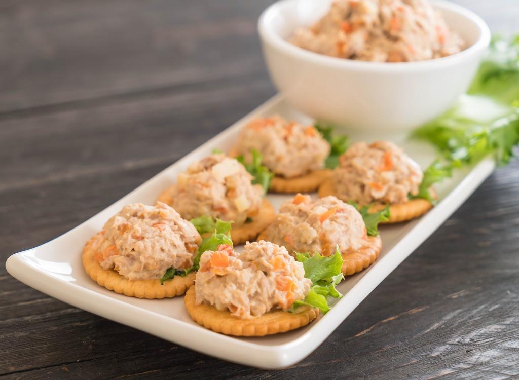Healthy Tuna Snacks  40 Healthy Snack Ideas