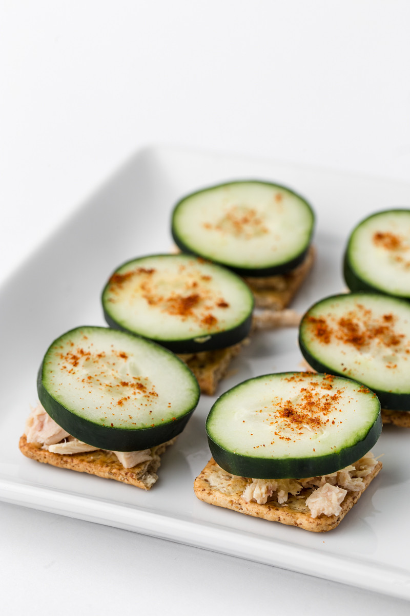 Healthy Tuna Snacks  5 Healthy Cucumber Snacks The Chriselle Factor