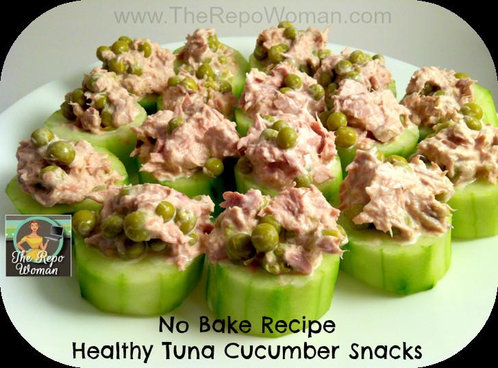 Healthy Tuna Snacks  Quick Healthy Snack Recipe No Baking Required The Repo