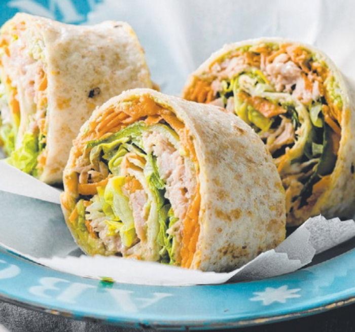 Healthy Tuna Snacks  Tuna & Salad Rolls