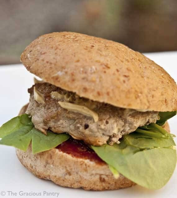 Healthy Turkey Burgers Without Bread  turkey burger recipe oven