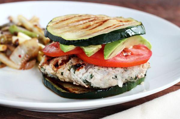 Healthy Turkey Burgers Without Bread  Healthy Low Calorie Burger Bun Alternatives