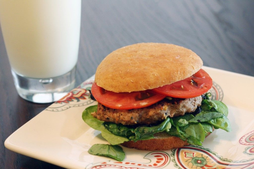 Healthy Turkey Burgers Without Bread  Recipe Skinny Worcestershire Turkey Burger