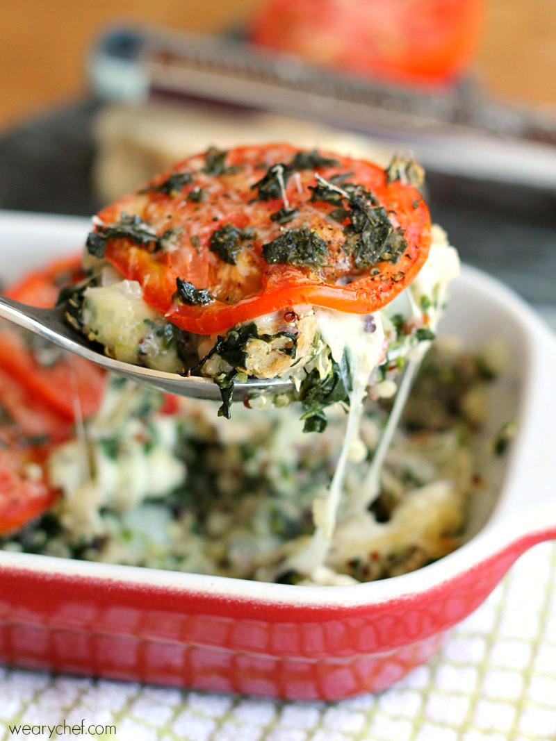 Healthy Turkey Casserole Recipes  Caprese Quinoa Casserole Recipe The Weary Chef