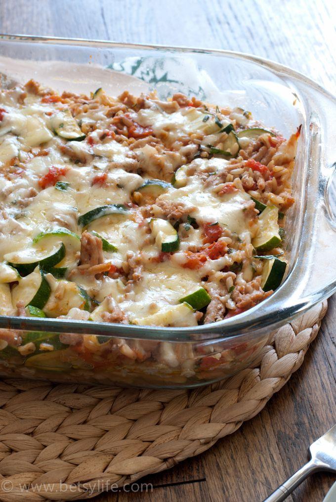 Healthy Turkey Casserole Recipes  The 25 best Ground turkey casserole ideas on Pinterest