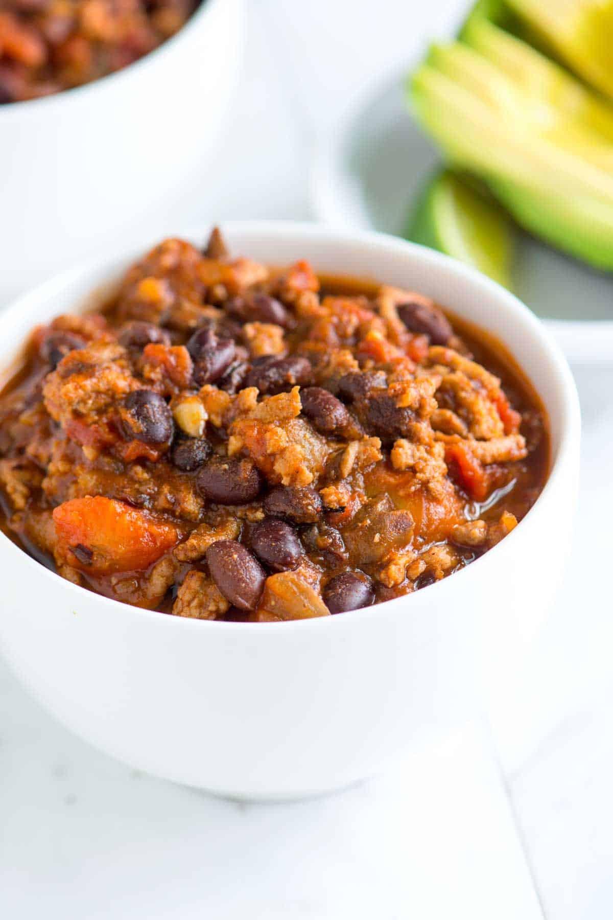 Healthy Turkey Chili  Irresistible Healthy Turkey Chili Recipe