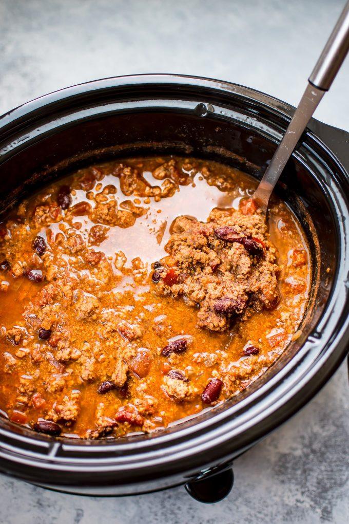 Healthy Turkey Chili Crockpot  Crockpot Turkey Chili • Salt & Lavender