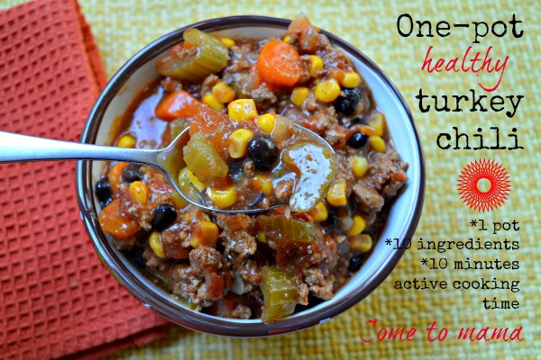 Healthy Turkey Chili Crockpot  The 6 best Crock Pot meals for your family