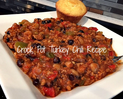 Healthy Turkey Chili Crockpot  Crock Pot Turkey Chili Recipe Weve Tried It Weve Tried It