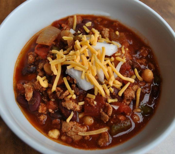 Healthy Turkey Chili Recipe Crock Pot  17 Best images about Celiac Maniac Slow Cooker & Freezer