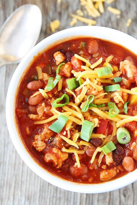 Healthy Turkey Chili Recipe Slow Cooker  Slow Cooker Turkey Chili Recipe