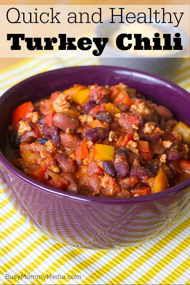 Healthy Turkey Chili  Quick and Healthy Turkey Chili