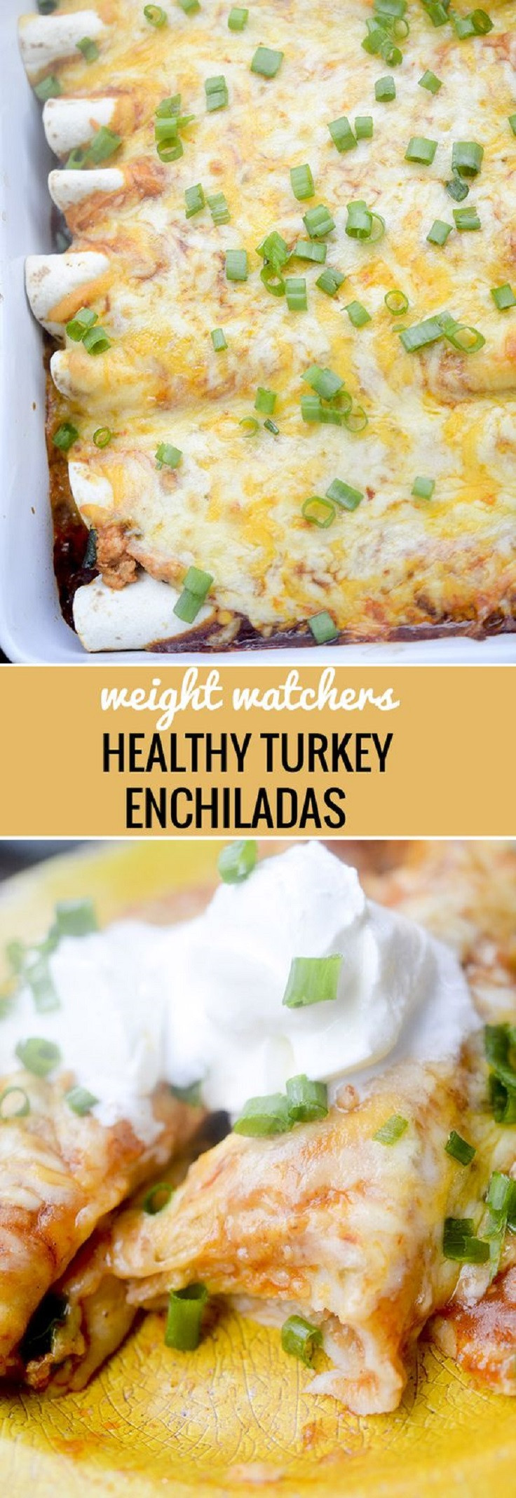Healthy Turkey Enchiladas  10 Easy and Healthy Summer Dinner Ideas to Tempt Your