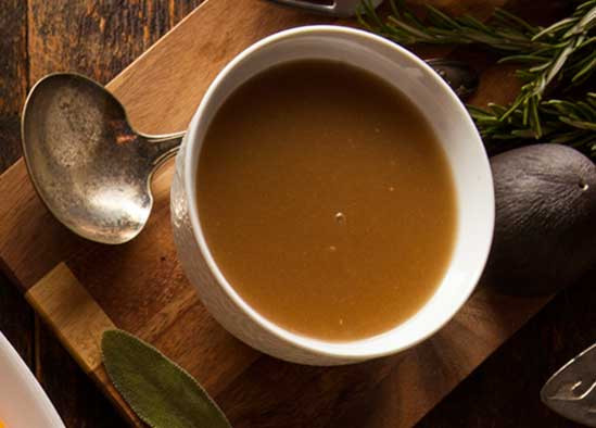 Healthy Turkey Gravy  A Holiday Dinner Menu Makeover A Few Simple Swaps for a