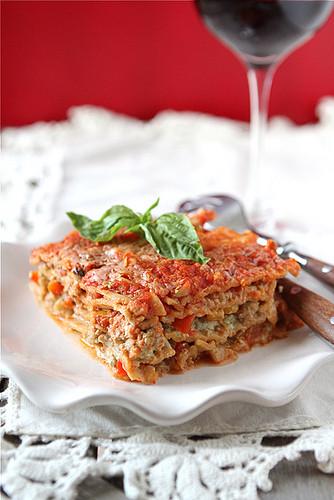 Healthy Turkey Lasagna  Healthy Lasagne Recipe with Turkey Pesto & Peppers