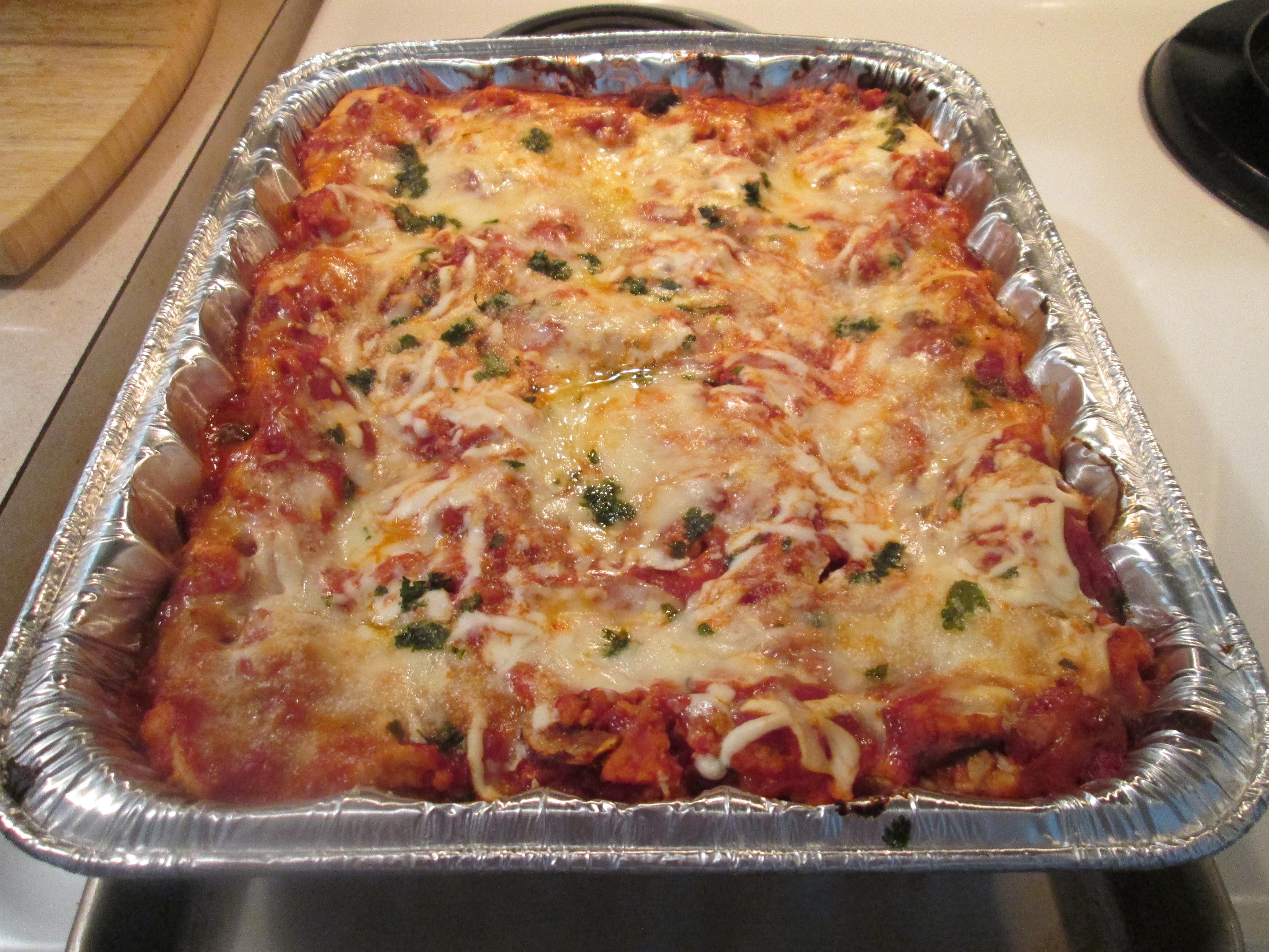 Healthy Turkey Lasagna  Healthy Harvest Turkey Lasagna Leftovers