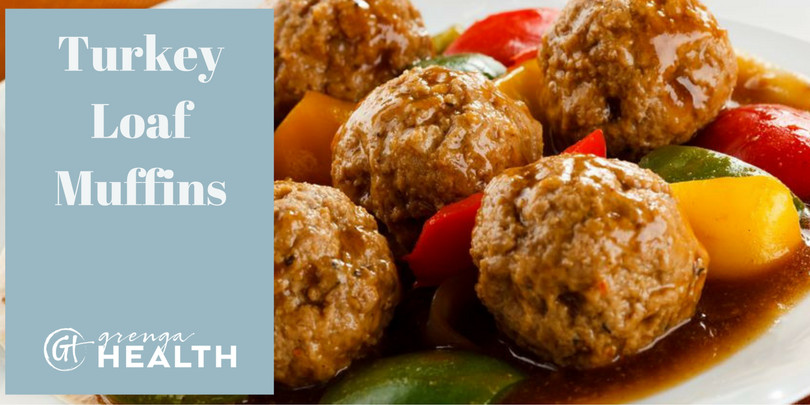 Healthy Turkey Meatloaf Muffins  Delicious Turkey Loaf Muffins A Grenga Health Recipe