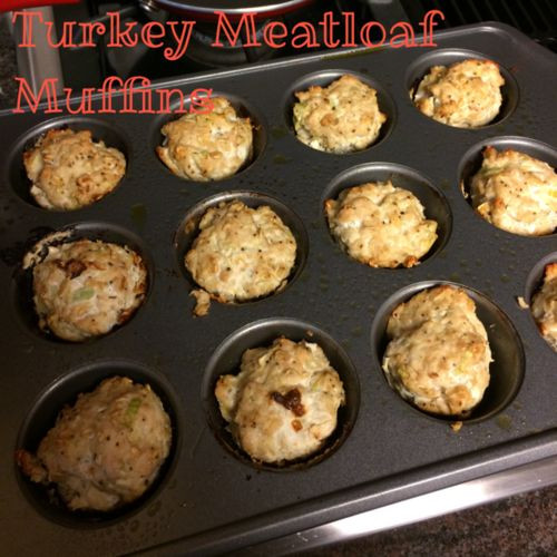 Healthy Turkey Meatloaf Muffins  Healthy Turkey Meatloaf Muffins for the 21DayFix