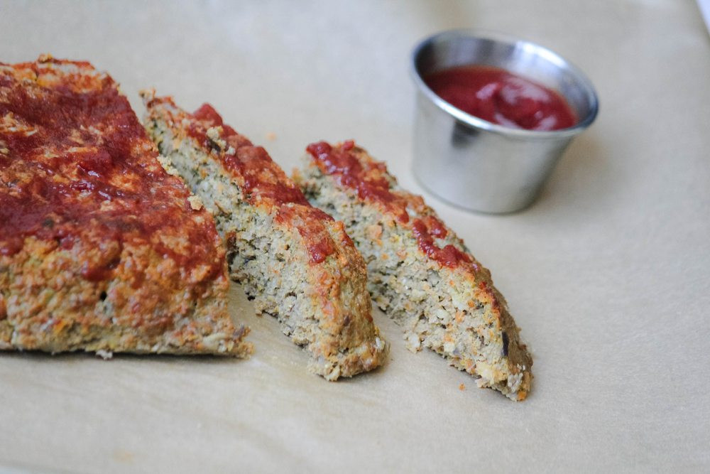 Healthy Turkey Meatloaf Recipe  Healthy Turkey Meatloaf Recipe with LOTS of Hidden Ve ables