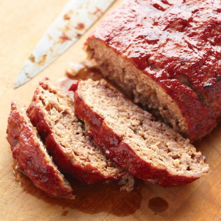 Healthy Turkey Meatloaf Without Breadcrumbs  No egg & GF Glazed Meatloaf Recipe Main Dishes with