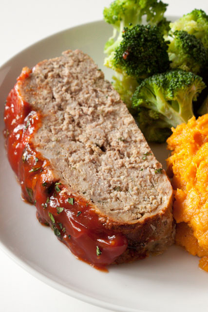 Healthy Turkey Meatloaf Without Breadcrumbs  healthy turkey meatloaf