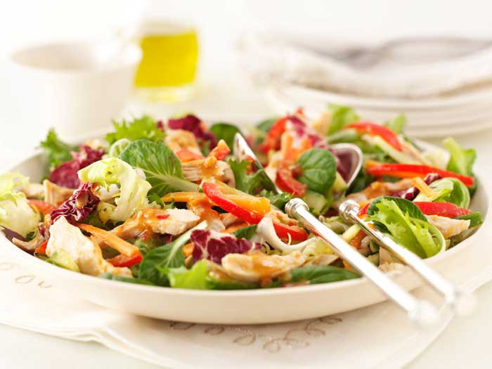 Healthy Turkey Salad Recipe  Healthy recipes for the new year 12