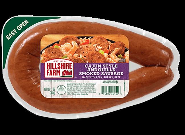 Healthy Turkey Sausage Brands  Cajun Style Andouille Smoked Sausage
