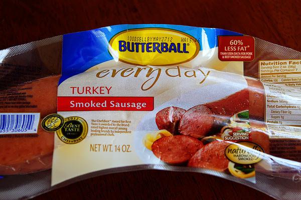 Healthy Turkey Sausage Brands  spicy sausage pasta 2