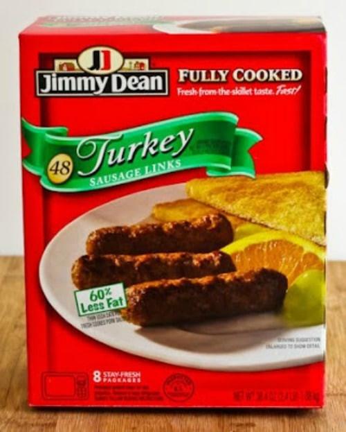 Healthy Turkey Sausage Brands  Kalyn s Kitchen Picks Jimmy Dean Pre Cooked Turkey Link
