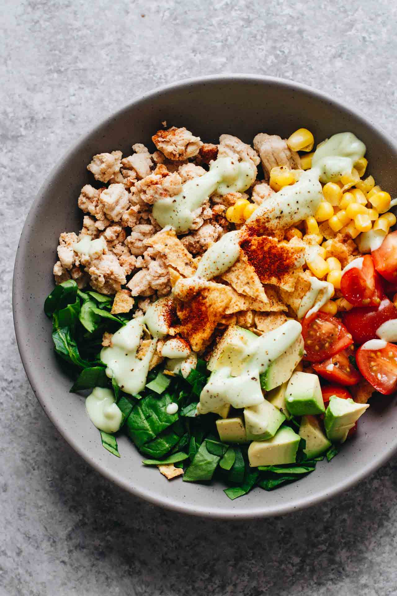 Healthy Turkey Taco Salad  Easy Healthy Taco Salad w Ground Turkey Jar Lemons