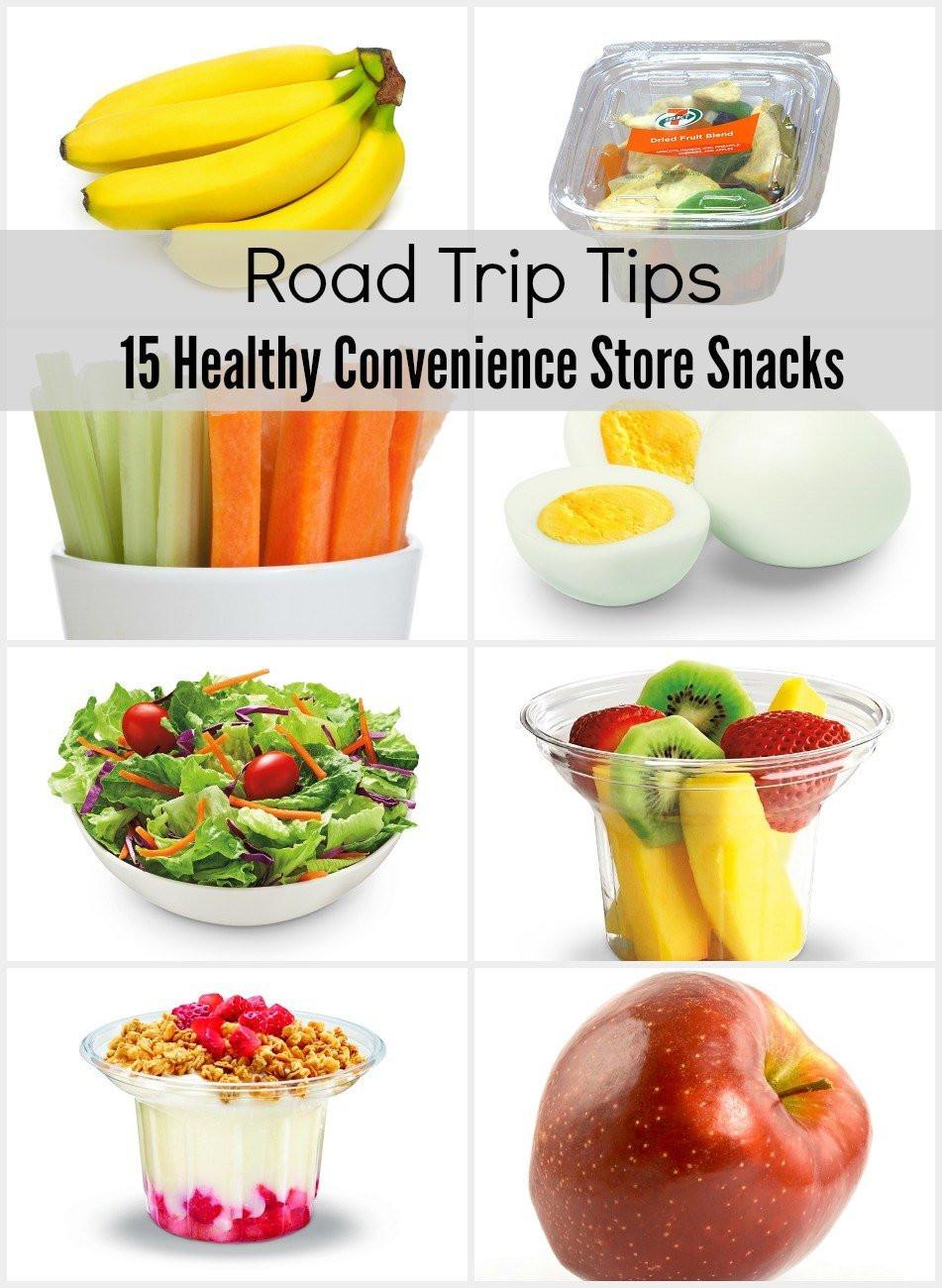 Healthy Vacation Snacks  15 Healthy Convenience Store Snacks for a Road Trip La
