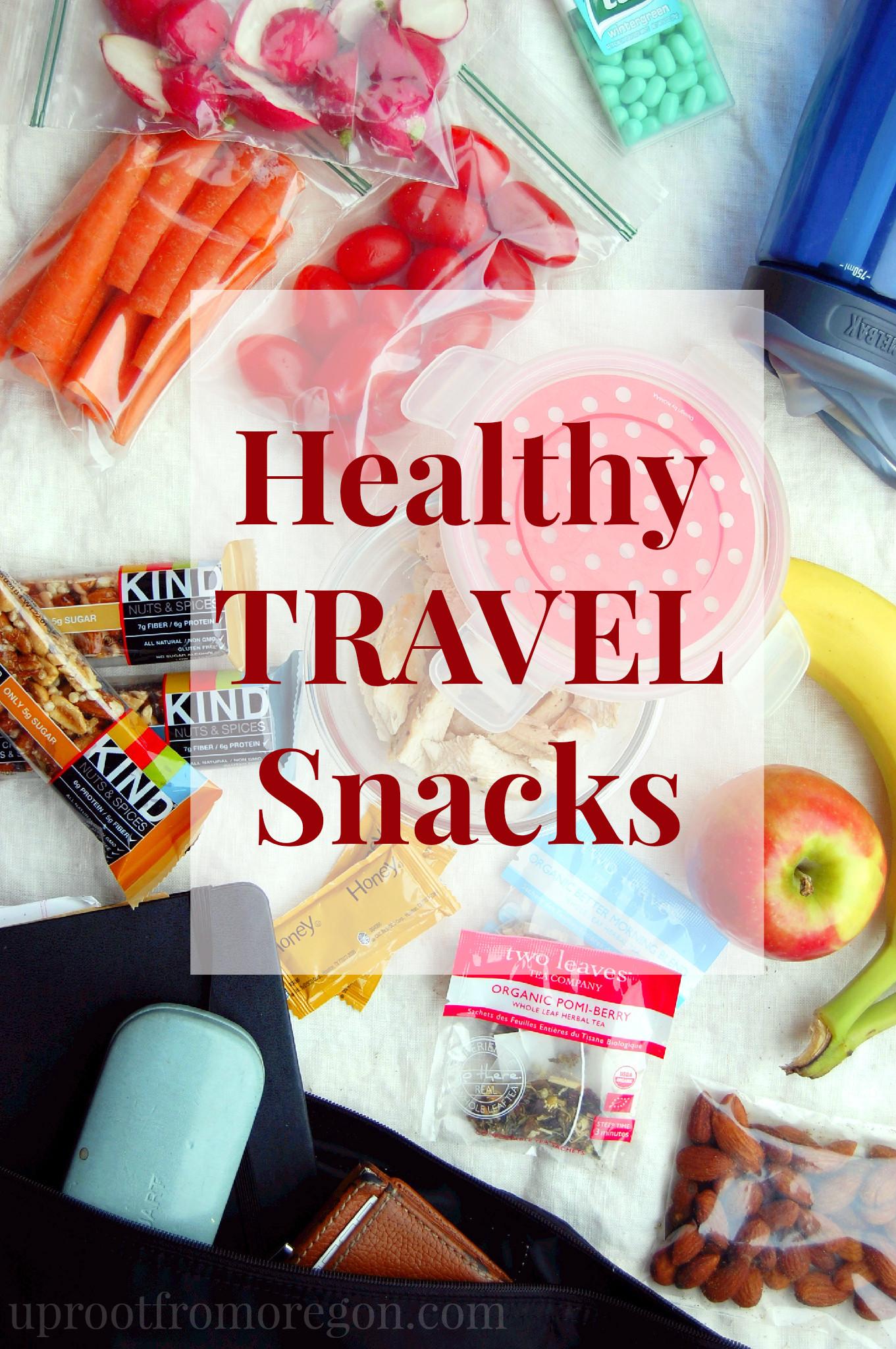 Healthy Vacation Snacks  Healthy Travel Snacks