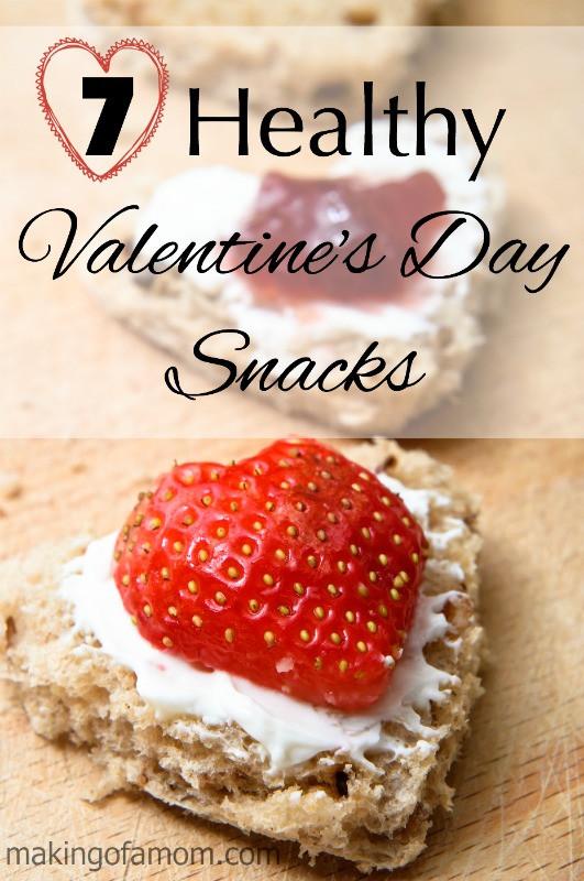 Healthy Valentines Snacks  7 Healthy Valentine's Day Snack Ideas