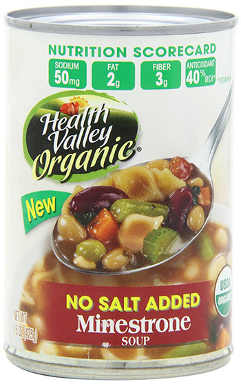 Healthy Valley Soups  Health Valley Organic Minestrone Soup – OrganicPowerFoods