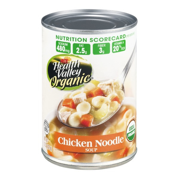 Healthy Valley Soups  Health Valley Organic Soup Chicken Noodle from Whole Foods