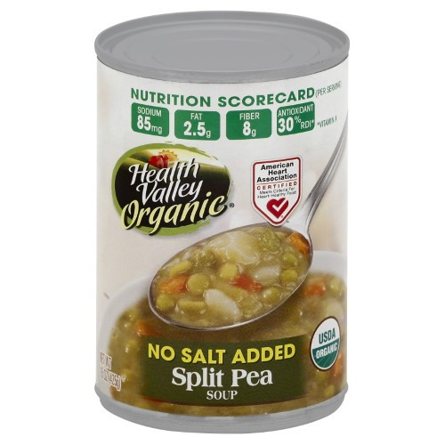 Healthy Valley soups 20 Of the Best Ideas for Health Valley organic soup Split Pea No Salt Added 15