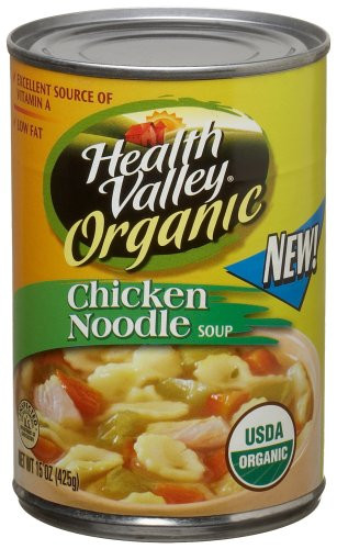 Healthy Valley Soups  Health Valley Organic Soup Chicken Noodle 15 Ounce Units