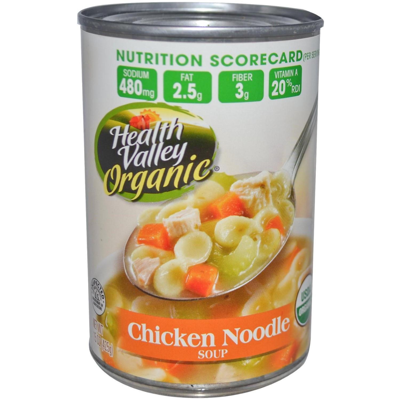 Healthy Valley Soups  Health Valley Organic Soup Chicken Noodle 15 oz