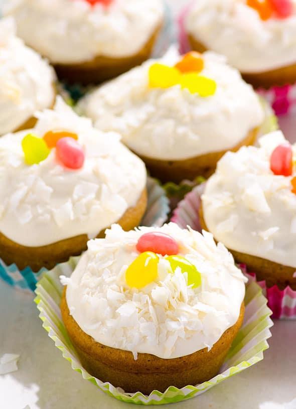 Healthy Vanilla Cake Recipe  Healthy Vanilla Cupcakes iFOODreal