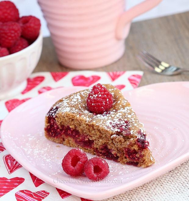 Healthy Vanilla Cake Recipe  Raspberry Vanilla Coffee Cake
