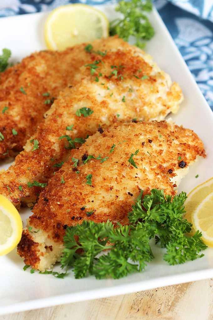 Healthy Veal Cutlet Recipes  Easy Parmesan Crusted Chicken Cutlet Recipe The Suburban