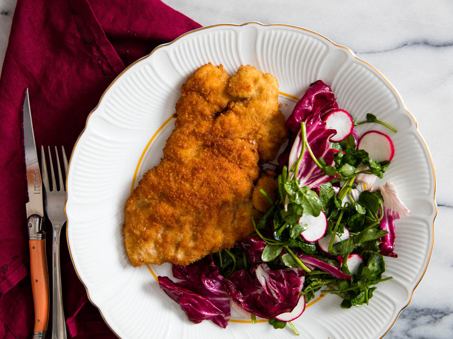 Healthy Veal Cutlet Recipes  Easy Breaded Fried Chicken Cutlets Recipe