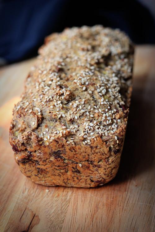 Healthy Vegan Banana Bread  Healthy Banana Bread Whole Wheat Vegan Oil free & Sugar