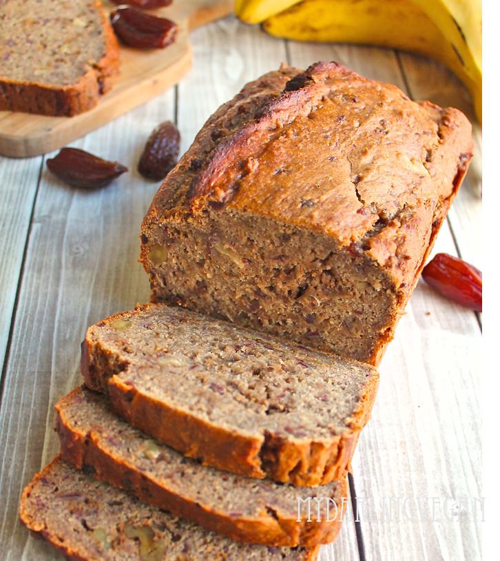 Healthy Vegan Banana Bread  Healthy Vegan Banana Bread