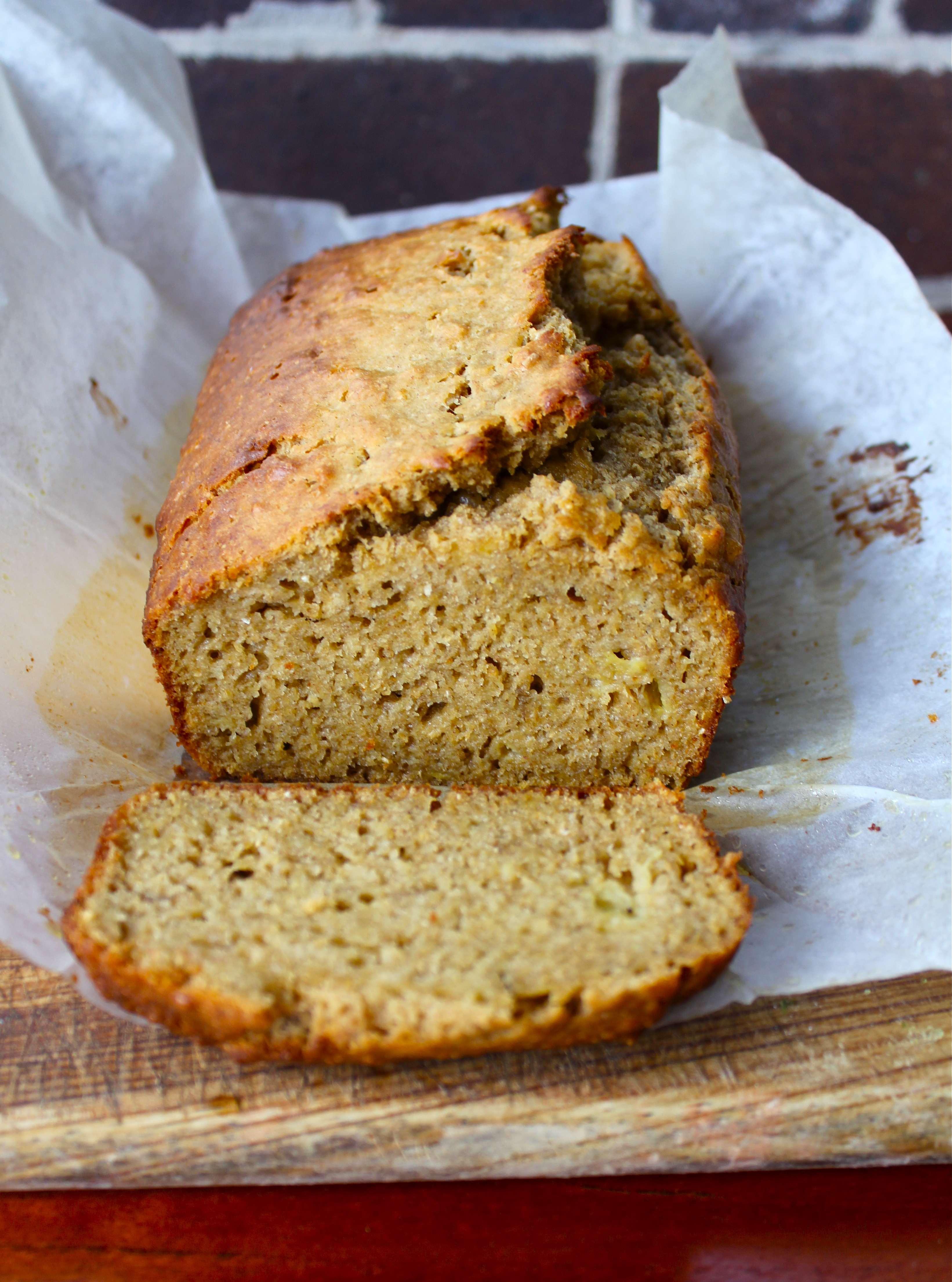 Healthy Vegan Banana Bread  Wholesome Vegan Banana Bread