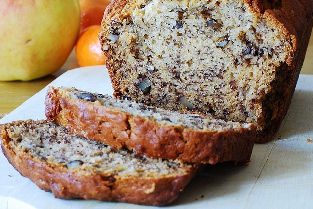 Healthy Vegan Banana Bread  Gluten Free Vegan Recipes banana bread with walnut