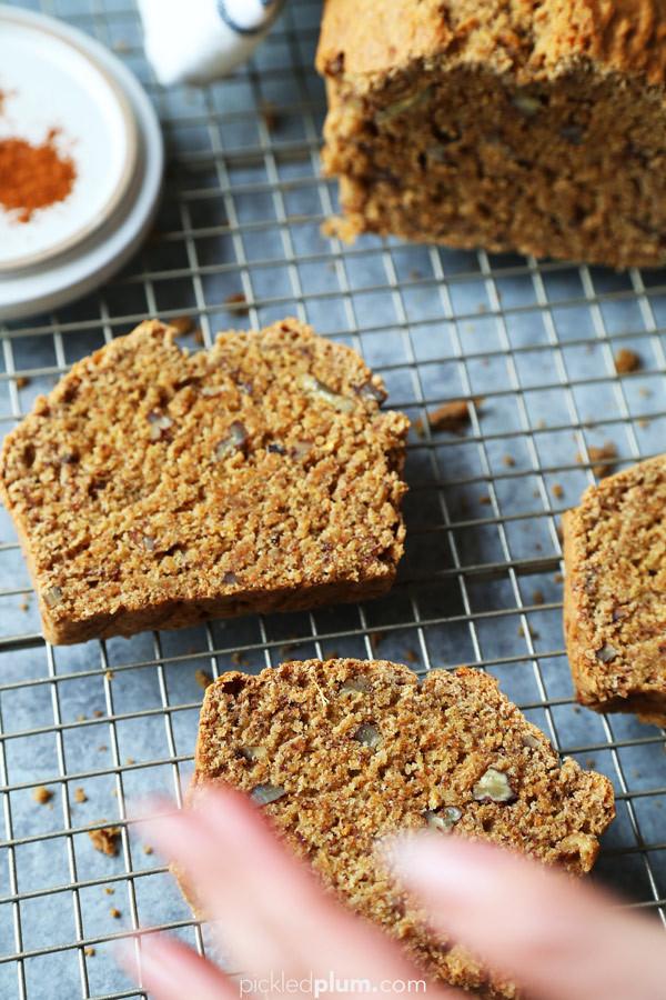 Healthy Vegan Banana Bread  Healthy Vegan Banana Bread Pickled Plum Food And Drinks